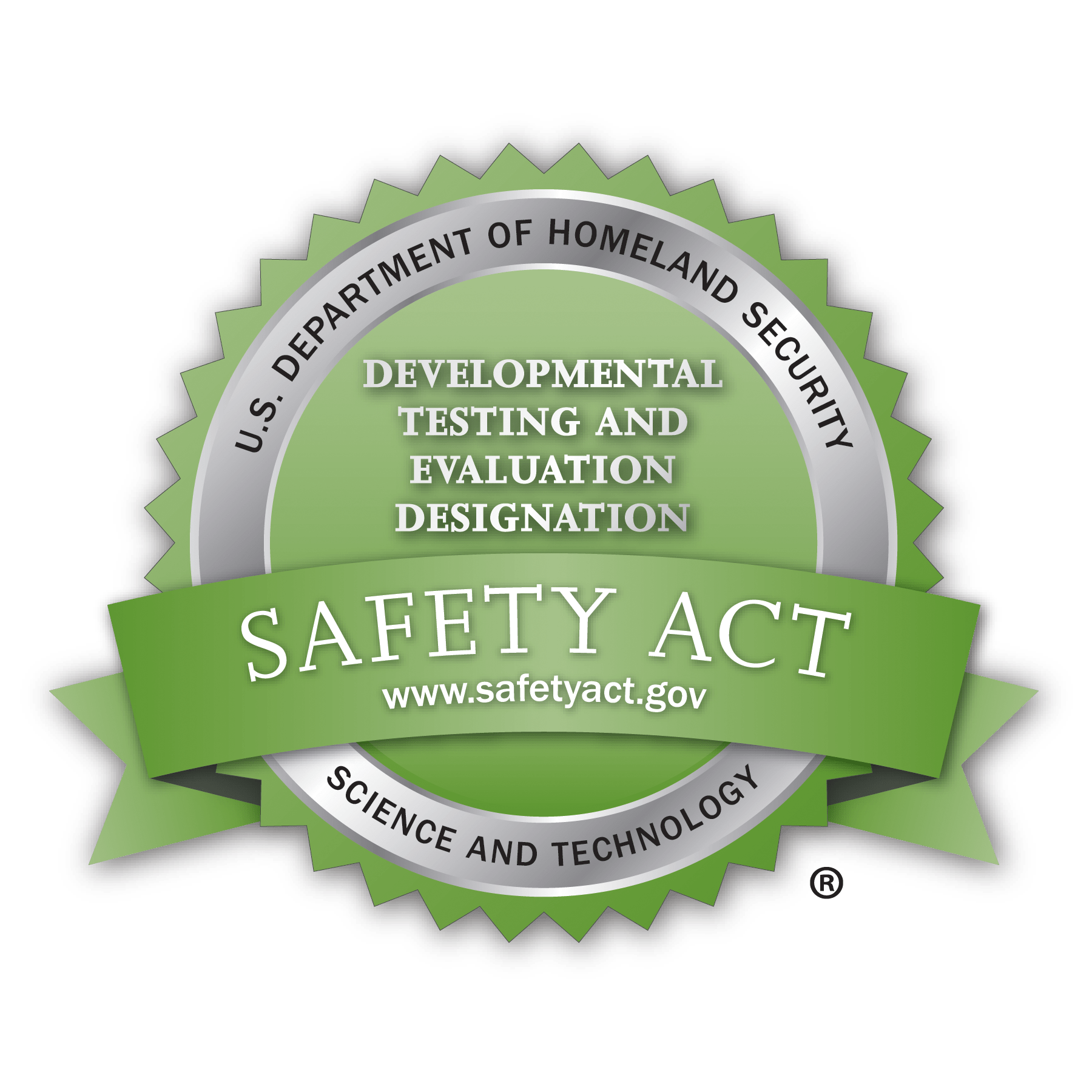 Department of Homeland Security Safety Act Certified